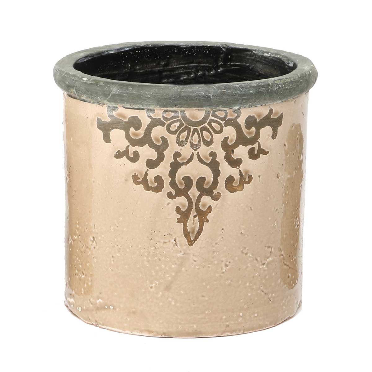 "FILIGREE FRENCH POT 6""X6"""